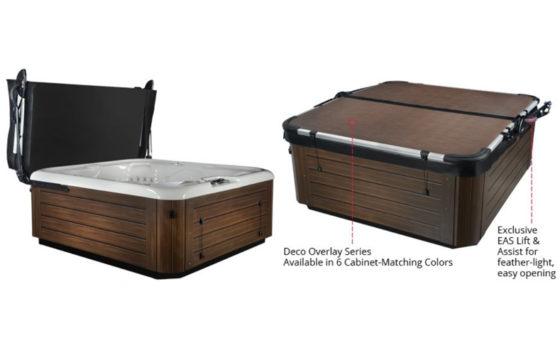 Smartop Upright hot tub cover